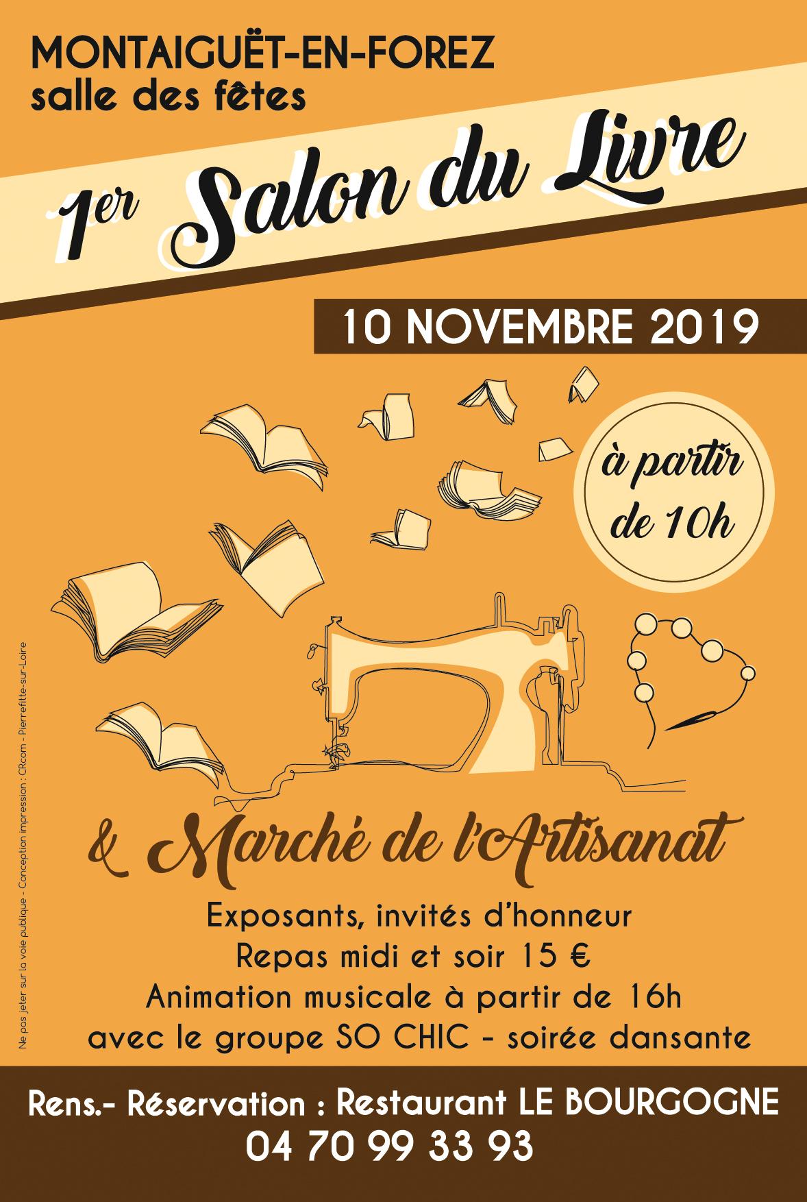 Affiche salon du livre 2019